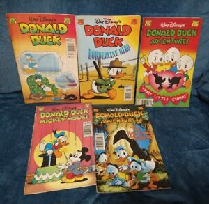 Disney Comic Book lot of 5 comics! Gladstone Walt Disney