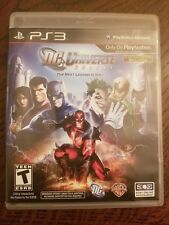 PlayStation PS3 DC Universe Online Video Game