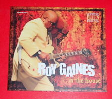 Roy Gaines - In the house (Digipak) -- CD / Blues