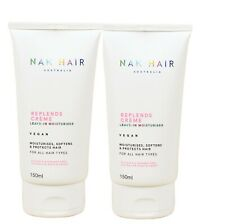 Nak Replends Creme Leave-in Moisturiser 150ml x 2 Moisturiser, softens & protect