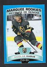19-20 2019-20 Upper Deck 2 OPC BLUE ROOKIE MARQUEE Update NICOLAS HAGUE #619