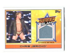 WWE Chris Jericho 2015 Topps Event Used SummerSlam 2014 Mat Relic Card