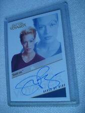 SEVEN OF NINE Voyager Autograph Tradingcard QUOTABLE 09 Rittenhouse AUTO J.RYAN