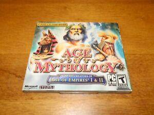 2006 Microsoft Age of Mythology Jewel Case NEW