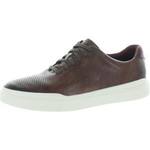 Cole Haan GrandPro Rally Men's Leather Laser Cut Low Top Running Shoes