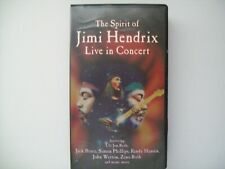 "Jimi Hendrix ""The Spirit Of Live In Concert"" Vhs"