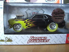 M2 Ground Pounders 1969  Ford Mustang Boss 429 Super Chase  1/64 Diecast