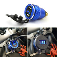 DIN to 2 USB Motorcycle Charger Charging Plug Socket for Triumph Tiger 800 XC