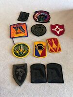 Mixed Lot Of Patches Militarybcollege Florida NGMA 11 Total