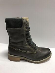 Eric Michael, Womens Amara Boot Grey Size US8 EUR38 M