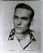 ORIGINAL 1950's 8x10 Publicity Photo Carl Perkins Rock