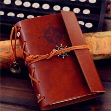 Vintage Classic Retro Leather Journal Travel Notepad Notebook Diary