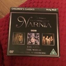 THE LION THE WITCH AND THE WARDROBE DVD 1988 Classic Movie Narnia