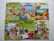 MOTU PATLU Lot of 9 Diamond Comics India ENGLISH-38c