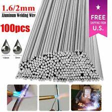 100pcs Durafix Aluminium Welding Rods Brazing Easy Solder Low Temperature Rods