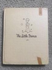 The Little Prince 1943 First Edition Antoine De Saint Exupéry Book