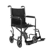 Lightweight Transport Wheelchair Steel 19