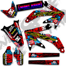 2008 2009 HONDA CRF 250 R DIRT BIKE GRAPHICS KIT CRF250R MOTOCROSS DECALS 21 MIL