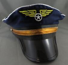 BLUE PILOT HAT - Costume accessory
