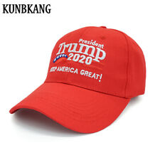 New Donald Trump 2020 Hat USA Baseball Cap Keep America Great President Hat Red