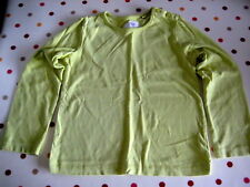 GIRLS TOP LIME YELLOW COLOUR - SIZE 4-5 YEARS