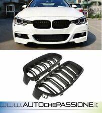 Coppia griglie nero opaco BMW F30/F31 2011>2015 doppio rene serie 1