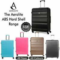 Aerolite Hard Shell Suitcase Cabin and Hold Bags. The All in One Luggage Listing