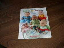 """""""Babies On The Go"""" Book 10"""" Doll Clothes 12 Outfits From Fat Quarters New 2012"""