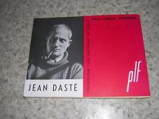 1953.Jean Dasté / Paul-Louis Mignon.envoi autographe.bon ex.théatre