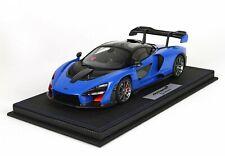 BBR 2018 McLaren Senna Azura Blue 1:18 LE 50pcs*Nice Color!*Brand New*RARE!
