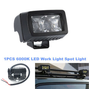 1PCS LED Work Light Spot Pods Bar Driving Fog Lamp Off Road Truck Boat Car SUV