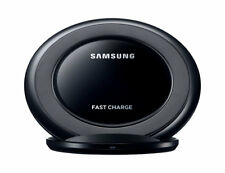 Original Samsung Wireless Charging Stand (Black) With Travel Adapter (White)