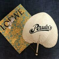 LOEWE 2019 Paula's Round Hand Fan Limited Edition Promo Gift New