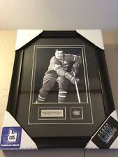 Montreal Canadiens Bernard Boom Boom Geoffrion 8x10 frame Cadre Photo standard