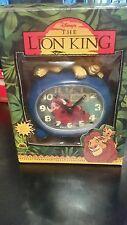 Disney's The lion king simba alarm clock NEW NIB RARE!