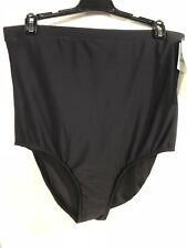 New Penbrooke Black Ultra High Waist Swimwear Bottom 14