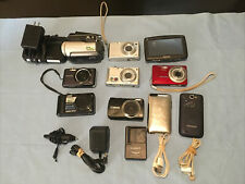 Electronic Lot: Cameras, iPod, T-Mobile Samsung Phone, TomTom Gps & Chargers