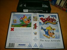 Vhs *BUDGIE THE LITTLE HELICOPTER - NEW ARRIVALS* 1994 Australian PolyGram Issue