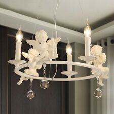 3 lights Bedroom Lighting Resin Angel Ceiling Light Dining Room Lamp Chandelier