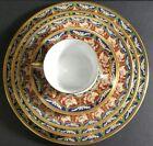 Christian Dior Tabriz Fine China 5pc Set Japan Cup Saucer Bowl Salad Dinne Plate