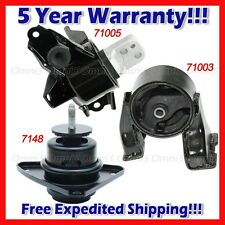 L927 For 2010-2013 Kia Forte/ 2012 Forte5 2.0L MANUAL, Motor & Trans Mount 3pcs