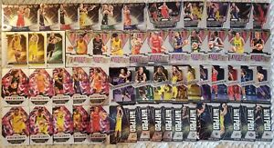 (54x) different 2021 Panini WNBA Prizm INSERT LOT * SABRINA IONESCU , SUE BIRD