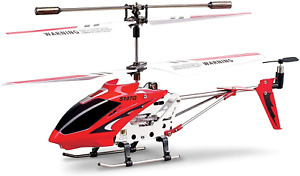 Syma 2nd Edition S107 S107G New Version Indoor Helicopter Red