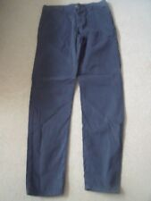 Kangol Mens Chino Trousers - Straight leg - Button Fly - Black - Size 32 L