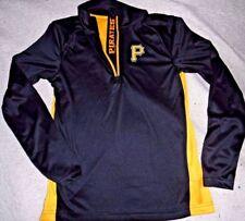 "Pittsburgh Pirates ""Mlb Genuine Merch"" Black Pullover Shirt Men'S Large New $50"