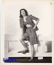 Dusty Anderson busty leggy VINTAGE Photo