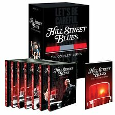 Hill Street Blues . Complete Series Season 1 2 3 4 5 6 7 Polizeirevier . 34 DVD