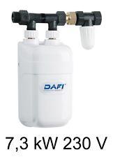 Chauffe eau Électrique Instantané DAFI 7 3 Kw 230v avec Connecteur. Promotion