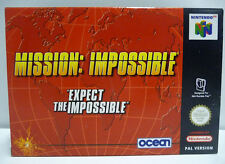 MISSION IMPOSSIBLE - NINTENDO 64 N64 PAL BOXED