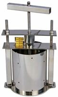 TSM Products Stainless-Steel Home Cheese Press